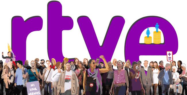 Las mujeres también cobran menos en RTVE